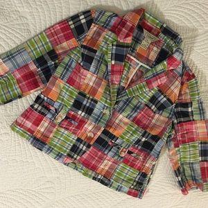 L. L. Bean Madras Jacket